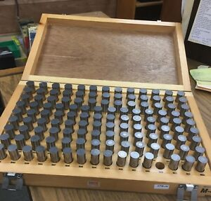 Meyer Model M 4 Minus 144 Piece Pin Gage Set