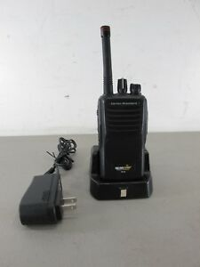 Bearcom Vertex Standard Bc95 Commercial Retail 2 Two Way Radio W Dock Charger
