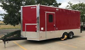 1 Year Food freedom Trailer 18 x8 In Pristine Condition