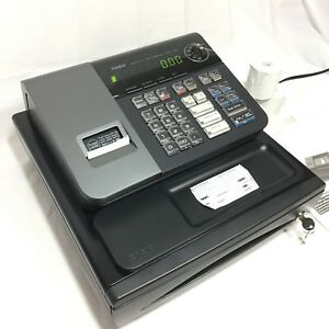 Casio Electronic Cash Register Pcr t280 With 58mm Thermal Printer