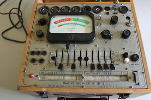 Vintage Precision Apparatus 612 Tube Tester Tested 6ak5 Good Nice