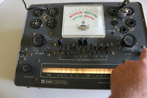 Vintage Knight 600a Tube Tester Tested 6ak5 Assembly Manual Clean Working