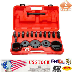23x Front Wheel Drive Bearing Removal Adapter Puller Pulley Tools For Car Truck