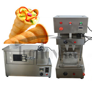 110v Commercial Electric Pizza Cone Forming Making Maker Machine Make Cone Pizza