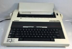 Brother Correctronic 320 Electric Typewriter New Ribbon Tested Working