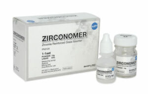 Shofu Zirconomer Zirconia Reinforced Glass Ionomer Permanent Dental Cement Kit
