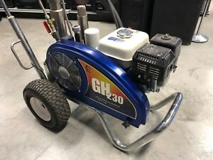 Graco Gh230 Gh 230 Hydraulic Airless Gas Sprayer Honda Never Had Paint In It