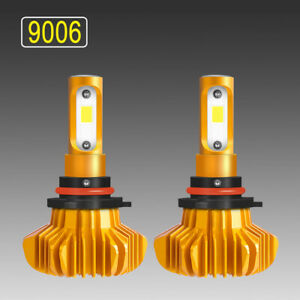 2pcs 1300w 9006 Hb4 Light Lamp For 2001 2013 Honda Accord Cob Low Beam Kit Bulbs