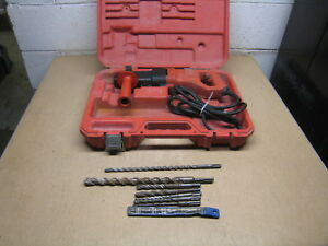 Milwaukee 5368 21 7 8 22mm Sds Rotary Hammer Drill Corded Red Free Shipping