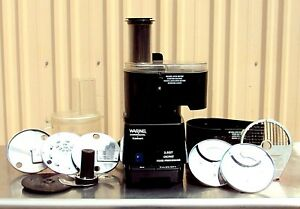 Waring Commercial Fp1000 Dicing Batch Bowl And Continuous Food Processor 2 1 2