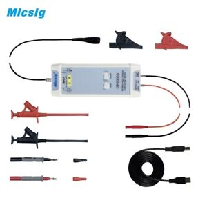 Micsig Dp20003 Oscilloscope High Voltage Differential Probe Kit 5600v 100mhz Usb