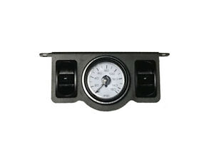 V Air Ride Suspension Dual Needle Gauge Panel 150psi 2 Paddle Switch Control