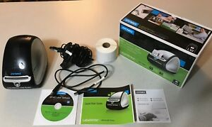 Dymo Labelwriter 450 Turbo Thermal Label Printer 1752265 With Rolls And Box