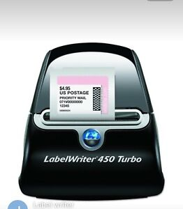Dymo Labelwriter 450 Turbo With Labels Used A Few Times