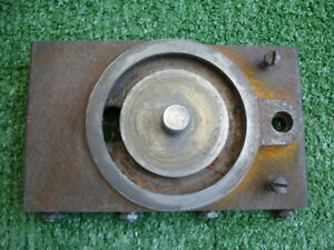 Early Logan 10 11 Lathe Cross Slide compound Base W gib Gib Screws
