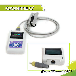 Cms60d Handheld Pulse Oximeter Oled Usb Pc Software Fda Ce Contec adult Probe