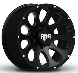 1 new 22 Rdr Rd02 Rd2 Wheel 22x10 6x5 5 6x139 7 0 Black Rim