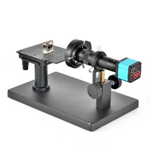 Horizontal Industrial Microscope Camera Stand With Scale Plate X y Stage Reticle