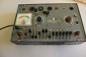 Vintage Commercial Trades Institute Tc 20 Tube Tester Working Unit