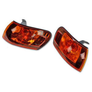 Fits Toyota Corolla Ae100 Ae101 E100 1993 95 97 Front Corner Light Lens Orange