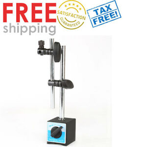 Dial Indicator Magnetic Base Holder Table Universal Spinner For Test Tools Stand