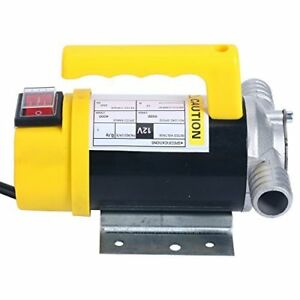 Fuel Oil Water Transfer Pump 12v Dc 350w 50l min Diesel Kerosene Biodiesel Pump