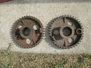 6ft Dempster 12 Windmill Large Gear Used Pair
