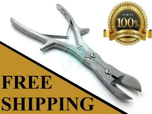 Double Action Bone Cutter 9 5 Scissor Curved Veterinary Orthopedic Instrument