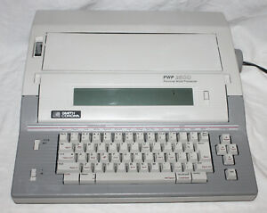 Smith Corona Pwp 2500 Personal Word Processor Typewriter Working Screen