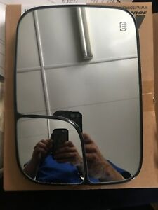 Left Drivers Side Dodge Heated Towing Mirror Replacement Glass
