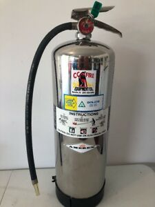 Amerex Fire Extinguisher 2 1 2 Gallon Water Model 240 1988 Ex 2765