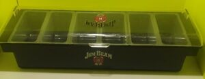 Co rect Ice Cooled Condiment Holder With Domed Lid 6 Pint Black Jim Beam 2011