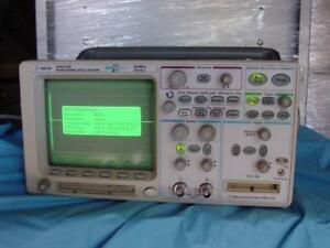 Agilent 54621d Digital Oscilloscope 60mhz 200ms s Megazoom N2757a Gpib Interface