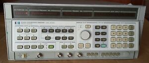 Hp8340a Synthesized Sweeper Signal Generator 10mhz 26 5ghz Opt 005 006 007