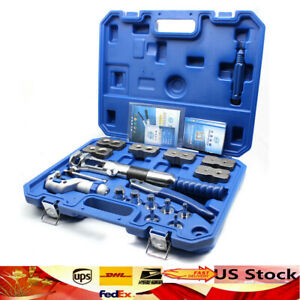 Brand New Wk 400 Universal Hydraulic Expander Flaring Tool Pipe Fuel Line Set