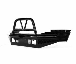Ranch Hand Legend Bullnose Width Black Front Hd Bumper For 05 07 Ford F 250