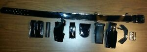 Gould Goodrich Leather Police Duty Belt Size 40 W buckle Accessories W keepers