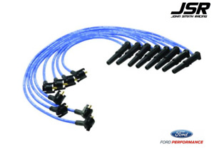 96 98 Mustang Gt Ford Racing Performance Parts Blue Spark Plug Wires 9mm