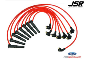 96 98 Mustang Gt Ford Racing Performance Parts Red Spark Plug Wires 9mm
