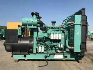 1000 Kw Cummins Onan Generator Set 6 Lead Qst30 Engine 4160 Volts