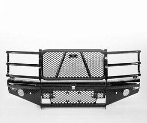 Ranch Hand Legend Bullnose Width Black Front Hd Bumper For 15 18 Silverado 2500