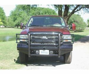 Ranch Hand Legend Series Width Black Front Hd Bumper For 05 07 Ford F 250 f 350