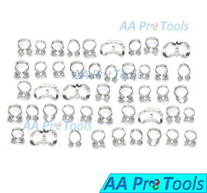 Aa Pro 46 Endodontic Rubber Dam Clamps Dental Instruments Stainless Steel