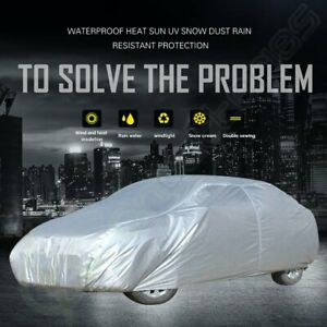 New Full Car Cover Waterproof Anti Snow Rain All Weather Protective For Lincoln