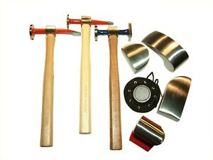 Dagger Tools 8pc Auto Body Hammer Dolly Kit