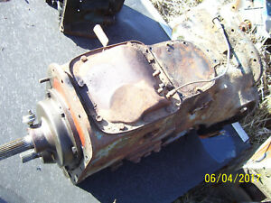 Vintage Ford 4000 Diesel Tractor Select O Speed Transmission Parts 1962