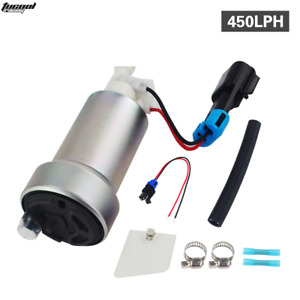 Walbro F90000267 High Performance Racing 450lph Fuel Pump W Install Kit E85