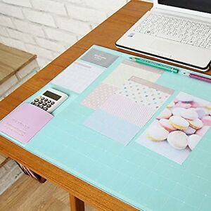 Lovely Nonslip Desk Mat Clear Pvc Cover Mouse Pad Writing Pad Decorative Desk