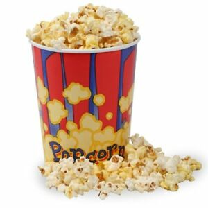 New 32 Ounce Movie Theater Popcorn Bucket pack Of 50 Free2dayship Taxfree