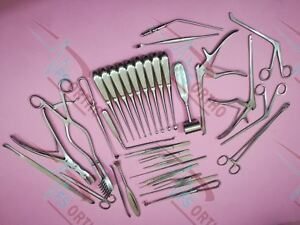 Laminectomy Set 35 Pcs Surgical Orthopedic Instruments Premium Quality By Fs